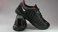 Кроссовки Мужские Nike 248\5 Кожаные Черный Размеры 40-45