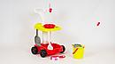 Детский игровой набор для уборки Little Helper 667-33-35 розовая и красная, фото 4
