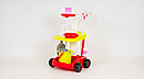 Детский игровой набор для уборки Little Helper 667-33-35 розовая и красная, фото 2