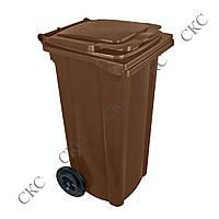 Професійне обладнання: Пластиковий контейнер 120 л для відходів