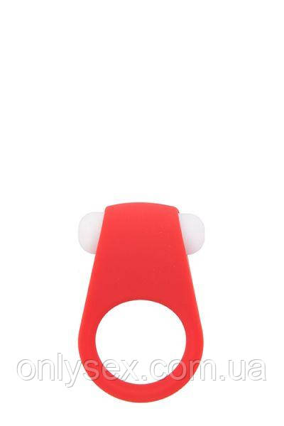 Эрекционное кольцо LIT-UP SILICONE STIMU RING 4, RED