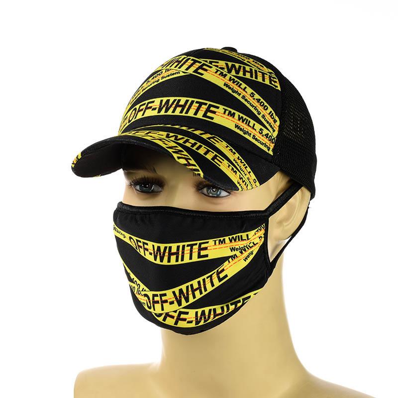"""Комплект кепка и маска """"Off White"""""""