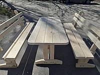 Комплект садовой мебели 2 лавочки + стол