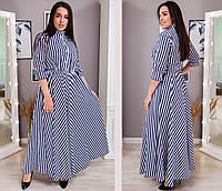 Платье женское 8363св батал