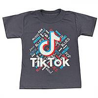 Футболка детская для мальчика TikTok 2-6 лет