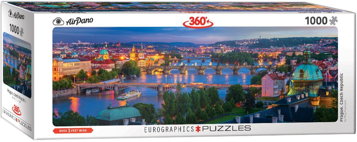 "Пазл панорамный ""Прага. Чехия"" 1000 элементов EuroGraphics (6010-5372)"