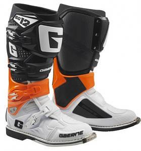 Мотоботы Gaerne SG-12 чёрный/оранжевый/белый