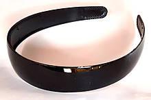 Обруч для волос широкий глянцевый 2,8 см