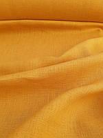 "Льняная костюмная ткань ""Горчичная"", фото 1"