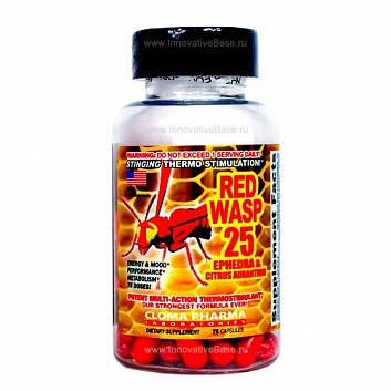 Жиросжигатель Red Wasp 25 Cloma Pharma 75 капс, фото 2