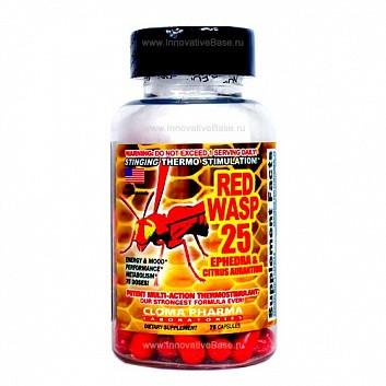 Жиросжигатель Red Wasp 25 Cloma Pharma 75 капс