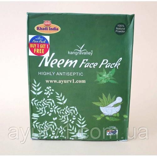 Маска для лица, Ним / Neem Face Pack, Khadi / 100 г