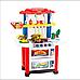 Кухня детская 768 А/В 2 цвета, свет-звук, течет вода, посудка 83см, фото 2