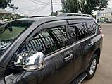 Хром накладки на дзеркала Toyota Land Cruiser Prado 150 2009-2021, фото 7