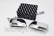 Хром накладки на зеркала Toyota Land Cruiser 200 2012- (Autoclover D853)