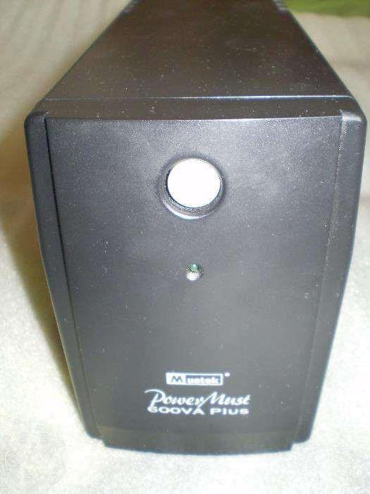 Источник бесперебойного питания Mustek PowerMust 600VA Plus, без аккумулятора, бу