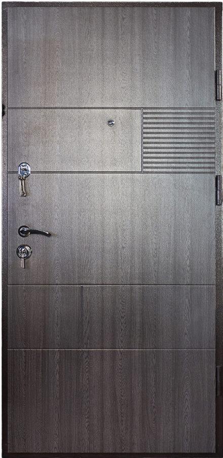 Входная металлическая дверь Дуэт