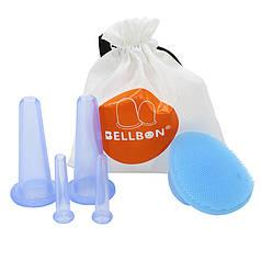 Вакуумные банки Bellbon QH-02 Blue массаж лица косметические массажные в домашних условиях