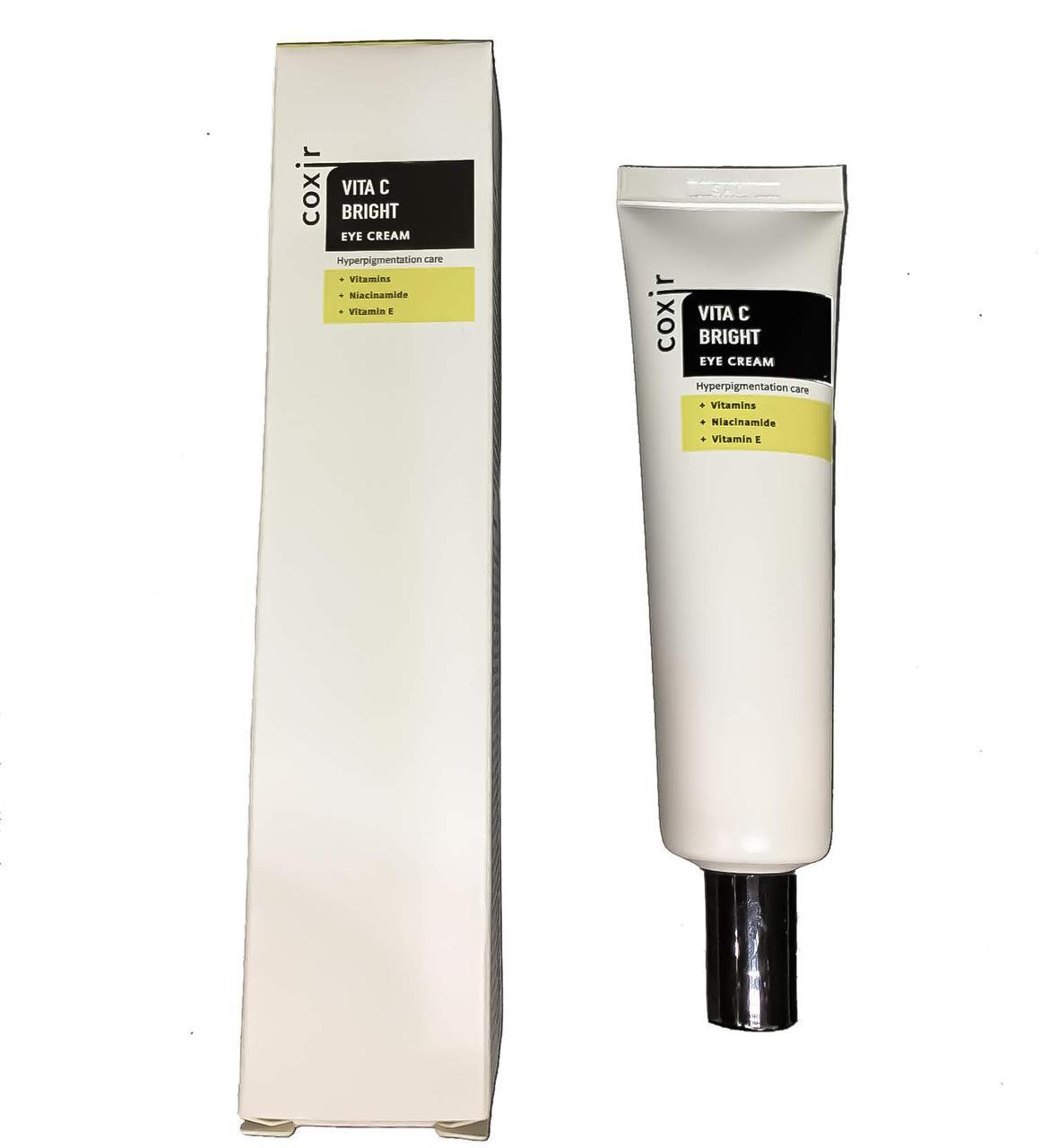 Осветляющий крем для век с витаминами Coxir Vita C Bright Eye cream