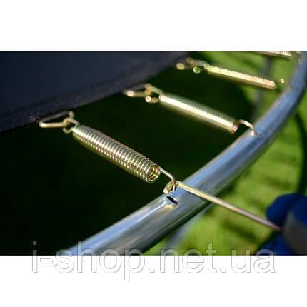 Батут funfit 252 см з сіткою + сходи, фото 2