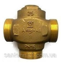 """Трехходовой термосмесительный клапан HERZ-TEPLOMIX для повышения температуры обратной линии DN 25 1"""". Киев"""