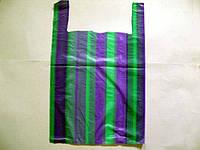 Пакет майка полиэтиленовая Полоса (38х60) №2 (100 шт)