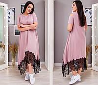 Платье женское 8255св батал