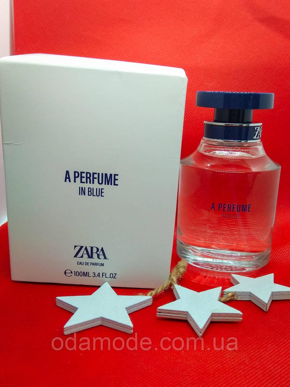 Духи женские Zara  A Parfume In blue EDP (Испания) 100мл