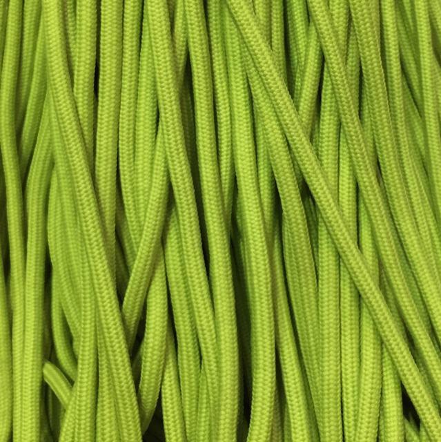 Шнур для одежды с наполнителем 6мм цв салатовый (уп 100м) Ф