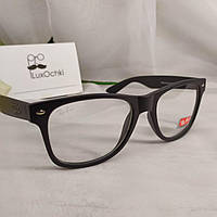 Стильные имиджевые очки Ray Ban Wayfarer в матовой оправе