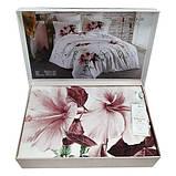Комплект постельного белья  200*220 TM Maison Dor ALITA ECRU, фото 3