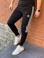 Спортивные штаны Adidas черные. Адисдас