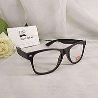 Стильные имиджевые очки Ray Ban Wayfarer оправа под дерево