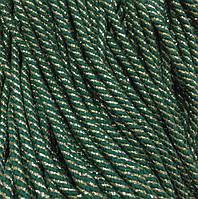 Вішалка для одягу з наповнювачем 8мм кол зелене із золотим (уп 100м) Ф