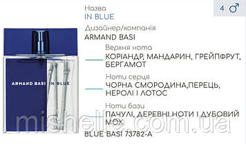 Концентрат парфюмерный BLUE BASI (100гр) (Альтернатива Armand Basi In Blue Homme)
