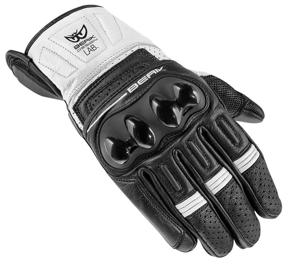 Мотоперчатки Berik ТХ-2 White