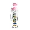 Пляшка BWT рожева зі вставкою (825312А)