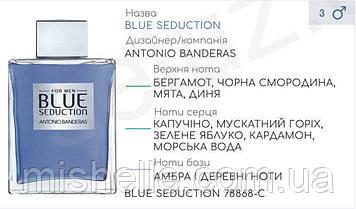 Концентрат для разливной парфюмерии BLUE SEDUCTION (100гр) (Альтернатива Antonio Banderas Blue Seduction Men)