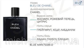 Концентрат BLUE MAN (105гр) (Альтернатива Chanel Bleu De Chanel)