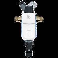 """Фільтр механічної очистки зі зворотною промивкою BWT R1 HWS ¾"""" з редуктором тиску (840369)"""