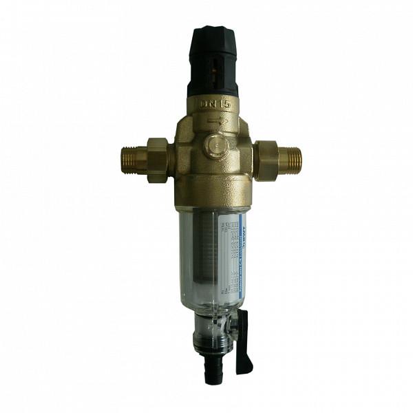 """Фільтр механічної очистки для холодної води з регулятором тиску BWT PROTECTOR MINI HWS ½"""" CR (810548)"""