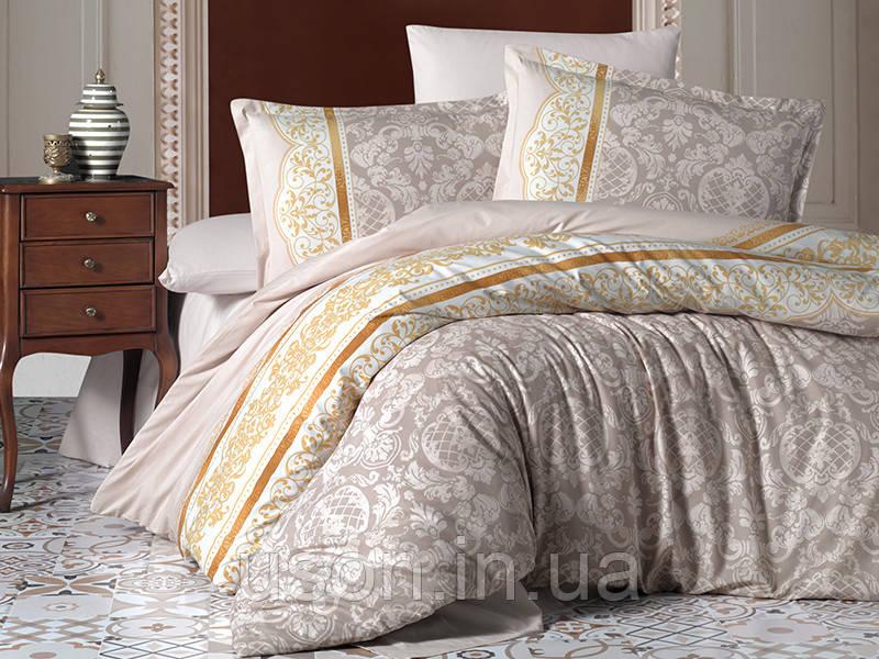 Комплект постельного белья Aran Clasy евро размер ранфорс ROCO V1