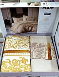 Комплект постельного белья Aran Clasy евро размер ранфорс ROCO V1, фото 2