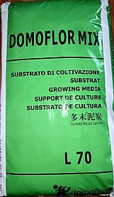 Торфяной субстрат ДОМОФЛОР МИХ 3 / DOMOFLOR MIX 3, 70 литров
