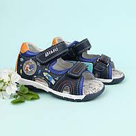 Кожаные босоножки для мальчика Bi&Ki серия детская летняя обувь р.21,22,24, фото 1