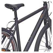 """Велосипед 28"""" CROSS Urban Areal рама 19"""" 2017 черный, фото 3"""