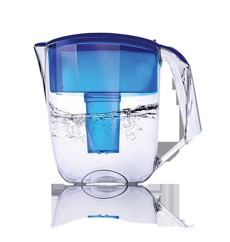 Фильтр кувшин Ecosoft для воды наша вода Луна синій 3,5 л (FMVLUNAB)