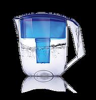 Фильтр кувшин Ecosoft для воды наша вода Луна синій 3,5 л (FMVLUNAB), фото 1