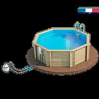 Дерев'яна кам'яний басейн BWT TROPIC 414 (27111205)