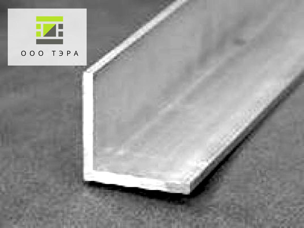 Алюминиевый уголок 20 х 20 х 1.5 мм профиль равносторонний АД31